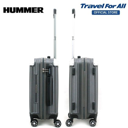 HUMMER ABS Luggage Bundle 2 In 1 (20 inch + 24 inch) with Free Gift Backpack
