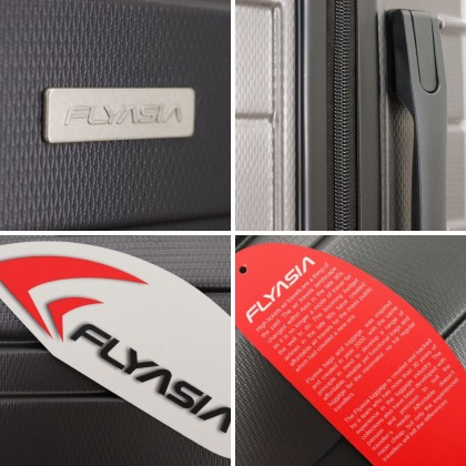 "FLYASIA Hard Case Luggage Combo Set (Size 20+24"") (3 colours available)"