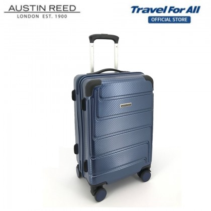 Austin Reed 5-in-1 Combo Set With 20 inch + 24 inch Luggage + 3 pcs Free Gift (Blue)